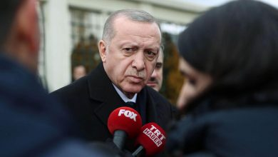 صورة أردوغان ينفي إرسال بلاده مقاتلين سوريين إلى أذربيجان