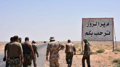 صورة اغتيال مدير هيئة المحروقات في دير الزور (صور)
