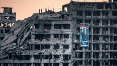 صورة بالصور.. ضحايا بانهيار بناء في دمشق