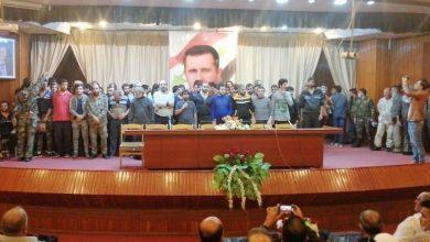 صورة هذه أسماء العشرات ممن أطلق سراحهم في درعا