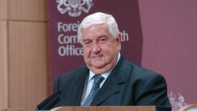 صورة وفاة وزير خارجية النظام السوري وليد المعلم