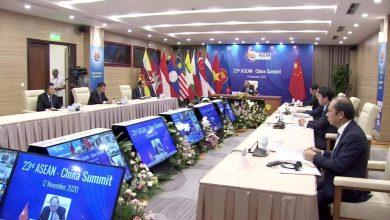 صورة الاتفاق على إنشاء أكبر كتلة تجارية في العالم