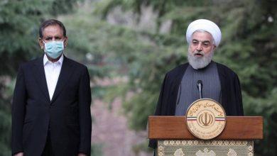 صورة الرئيس الإيراني حسن روحاني يعلن التعبئة العامة