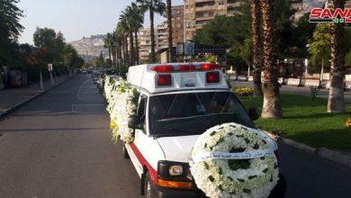 صورة بالصور.. هكذا شارك بشار الأسد في مراسم تشييع وليد المعلم