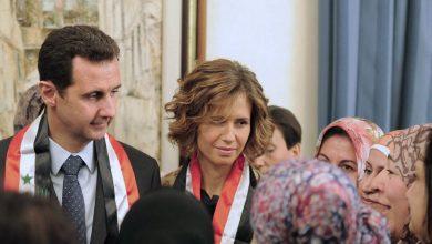 بشار وأسماء الأسد