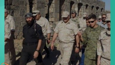 صورة معارض سوري يكشف عن تنسيق روسي أردني حول جنوب سوريا.. ومسؤول يتحدث عن دعم استخبارات خارجية لأسماء الأسد
