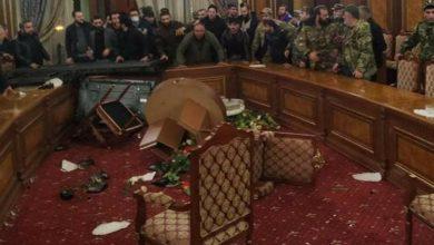 صورة بالفيديو.. اقتحام مقر إقامة رئيس الوزراء الأرميني