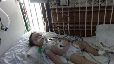 صورة بعد مناشدات فاشلة لإدخالها إلى تركيا.. وفاة طفلة رضيعة في مشافي سوريا (صور)