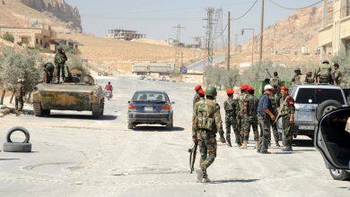صورة عشرات القتلى والجرحى من قوات النظام السوري وسط وشرق سوريا