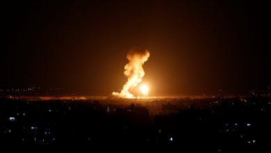 """صورة شاهد.. الجيش الإسرائيلي ينشر مقطع فيديو لدمار مقر """"الفرقة السابعة"""" جنوب سوريا"""