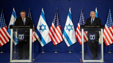صورة وزير الخارجية الأمريكي يعلن نيته القيام بزيارة لمرتفعات الجولان