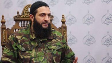 """زعيم """"هيئة تحرير الشام"""" """"أبو محمد الجولاني"""""""
