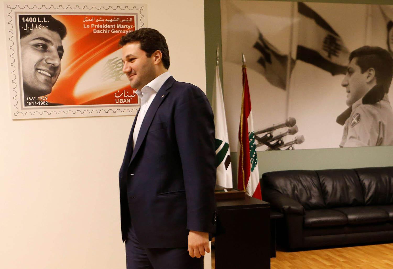 النائب اللبناني المستقيل نديم الجميّل