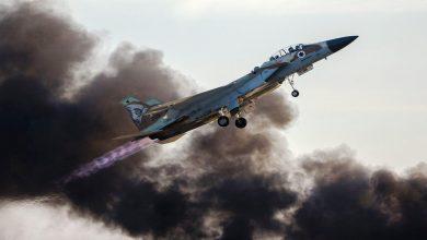 صورة غارات جوية إسرائيلية تضرب مواقع للحرس الثوري في سوريا