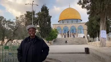 صورة الكشف عن تفاصيل حقيقة الشاب الذي مشى إلى المسجد الأقصى من جنوب إفريقيا (صور)