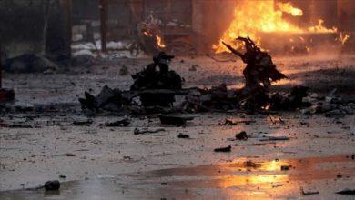 صورة قتلى وجرحى بانفجار سيارة ملغومة شمال سوريا