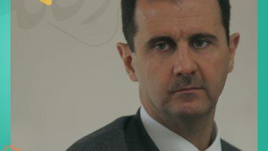 """صورة """"بشار الأسد يتجنب المبيت في قصر المهاجرين"""""""