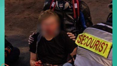 صورة الاعتداء على لاجئ سوري ومصوّر بارز في باريس