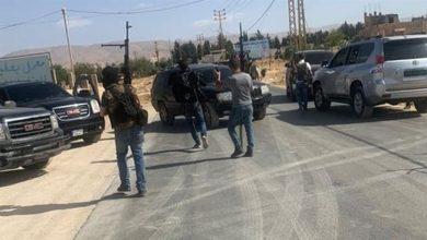 صورة مقتل سوري جراء اشتباكات في لبنان