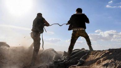 صورة قتلى وجرحى من قوات النظام السوري بكمين محكم