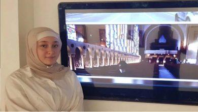 الطالبة اللبنانية أماني إبراهيم