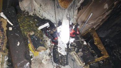صورة حريق يلتهم شقة في حلب بداخلها فراش يحتوي ملايين الليرات